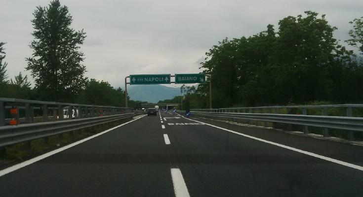 Tratto autostradale dell'A16 chiuso tra martedì 10 e mercoledì 11: non si può uscire ad Avellino est