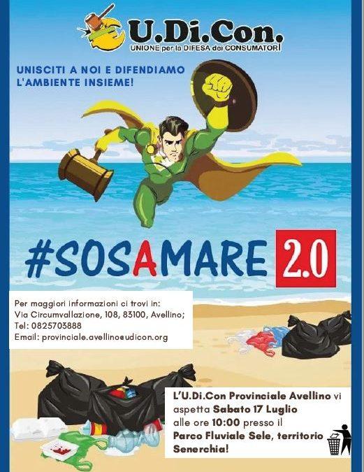 #SOSAMARE 2.0 sabato 17 luglio, ore 10.00 Parco Fluviale Sele di Senerchia